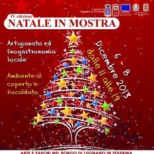 immagine IV EDIZ. NATALE IN MOSTRA Arti e Sapori a Lugnano in Teverina